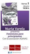 Presentación de 'Feminismo para principiantes'