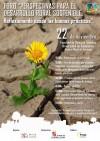 """Cartel del Foro """"Perspectivas para el Desarrollo Rural Sostenible. Reflexionando desde las buenas prácticas"""""""