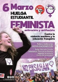 6M. Huelga Estudiantil Feminista